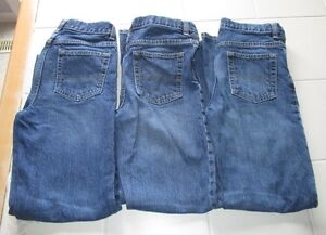 3x boys OshKosh straight leg jeans size 12 slim