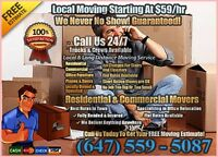 Experience Toronto Movers- Moving- Call Us Today
