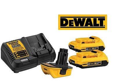 DeWALT DCA2203C 18V-20V Lithium Ion Battery Adapter Kit Charger Tools BRAND NEW!
