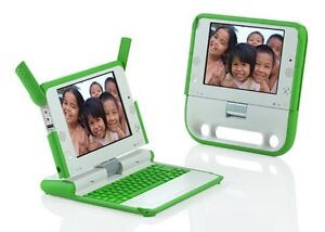 OLPC XO Laptop - One Laptop Per Child - 100% Working Collectible