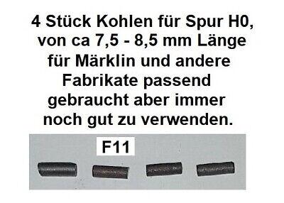 4 Stück Kohlen für Spur H0 für Märklin und andere Fabrikate passend          F11