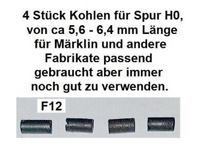 4 Stück Kohlen für Spur H0 für Märklin und andere Fabrikate passend          F12