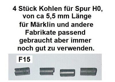 4 Stück Kohlen für Spur H0 für Märklin und andere Fabrikate passend          F15