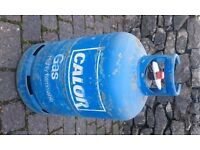 Calor Gas bottle - blue, butane, 15kg capacity, empty - ready to exchange for refill
