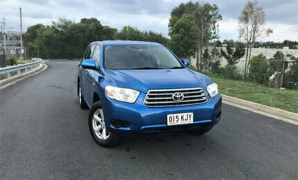 2007 Toyota Kluger GSU45R KX-R AWD Blue 5 Speed Sports Automatic Wagon Darra Brisbane South West Preview