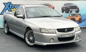 2005 Holden Ute VZ S Silver Manual Utility Campbelltown Campbelltown Area Preview