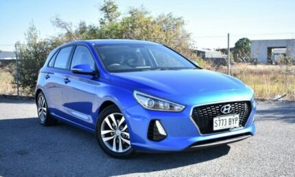 2017 Hyundai i30 GD4 Series II MY17 Active Blue 6 Speed Sports Automatic Hatchback Ingle Farm Salisbury Area Preview