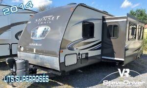 2014 CrossRoads RV Sunset Trail ST290 QB