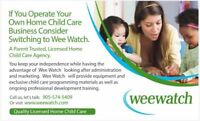 Work From Home! Become a Wee Watch Provider.