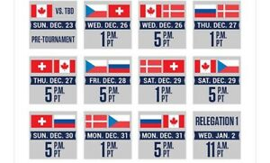2019 World Junior Tickets