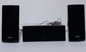 4 speakers + 1 centre SONY pour surround, neufs