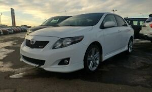 2010 Toyota Corolla XRS Accident Free,  Leather,  Sunroof,  A/C,