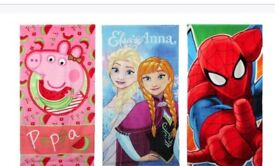 Character beach towels NEW
