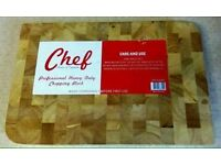 New real wood chopping boards