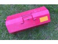Kennedy Vintage Metal Tool Box Case Storage Mechanic Engineer