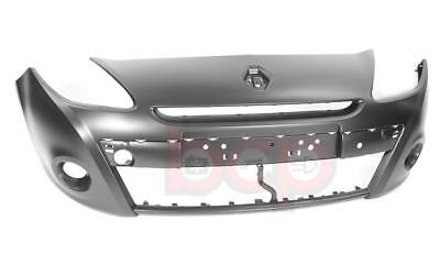 RENAULT CLIO 2009   2012 FRONT BUMPER 15 WHEELS ONLY PRIMED NO PDC OR WASH BUMP