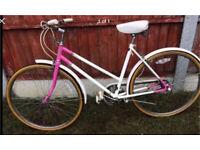 Ladies vintage town bike