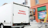 TorEx Moving-STARTS ONLY FOR $59/HR! MOBILE STORAGE-$10 /DAY