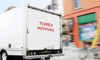 TorEx Moving - STARTS ONLY FOR $49/HR! MOBILE STORAGE-$10 /DAY