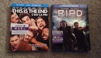 Brand new Blue ray movies