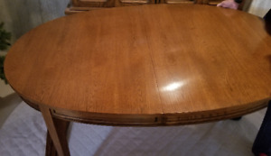Dining Set - Table, chairs, hutch
