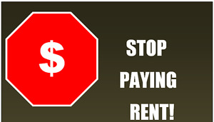 DONT let another year go by paying rent! own today for 0 down!