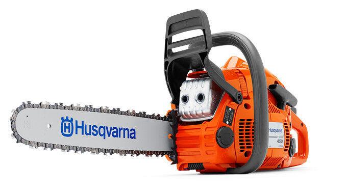 "Husqvarna 450e II 20"" Chainsaw, .325 pitch, .050 ga. 50.2cc 967651103"