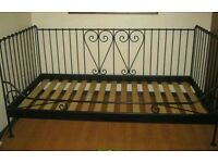 Ikea metal day bed frame