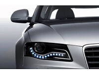 Brandnew waterproof white LED's daytime running lights,available for ALL car makes,costs£65,only £25