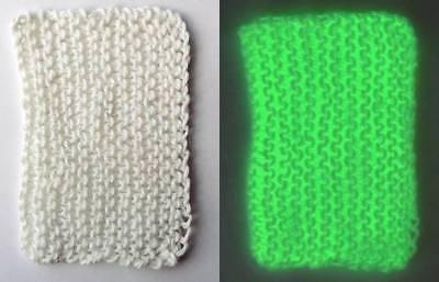 Glow in the Dark Yarn - 4-Ply Fingering Weight - 120 Yards - Glows Green](Glow In The Dark Green)