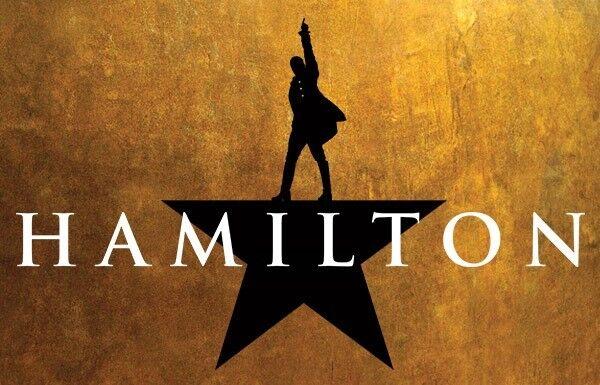 "1 ticket to ""HAMILTON"", 26th December 2017,"