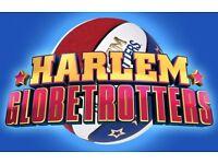 2 Tickets Harlem Globetrotter