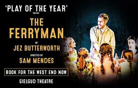 THIS TUES 27th JUNE - 2 x TICKETS for FERRYMAN matinee (1.30pm) - grand circle JUST £15 per ticket