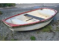 7ft 6inch Fibreglass pram dinghy