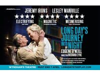 Long Day's Journey Into The Night - Stalls, Raw D, at £55 only! (down from £67.5)