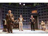 2 No Man's Land tickets Stalls M Wyndham's Theatre tonight Saturday 3rd 7.30pm