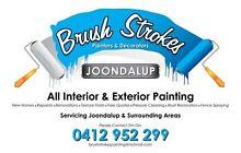 Brushstrokes Painting & Interior Decorating Heathridge Joondalup Area Preview