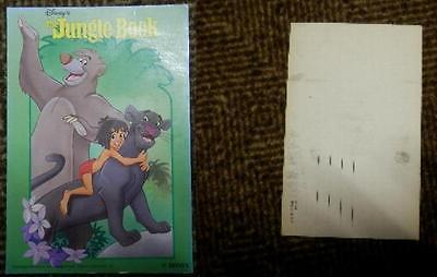 Postcard Postkarte Jungle Book Dschungelbuch 1 Walt Disney unbenutzt 1963? Antik