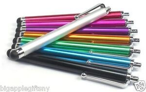 Lot 10 x Color Metal Touch Screen STYLUS Pen for iPhone5 5S 5C 4 4S IPAD1 2 3 4