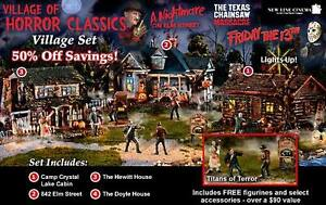 VILLAGE OF HORROR CLASSICS COLLECTIBLE HOUSES Kitchener / Waterloo Kitchener Area image 1