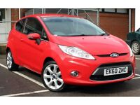 FORD FIESTA 1.6TDCI TITANIUM 10/2010 FULL FORD HISTORY 2 OWNERS YEAR MOT 84K MILES FOCUS CLIO CORSA
