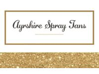 Ayrshire Spray Tans - Mobile! £15 per spray tan.....