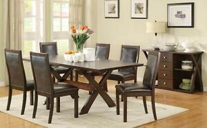 Dudley 7 Pc Rectrangle Dining Table Set