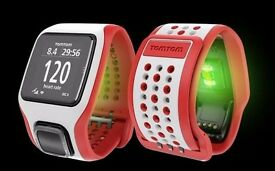 TomTom Cardio Runner - GPS heart rate monitor fitness watch