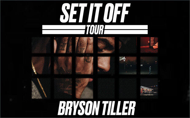 Bryson Tiller Set It Off Tour @Eventim Apollo Tuesday 28th November 2017