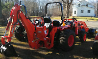 Tractor and mini backhoe service