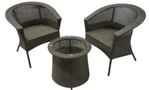 Large Patio Cafe set for Two