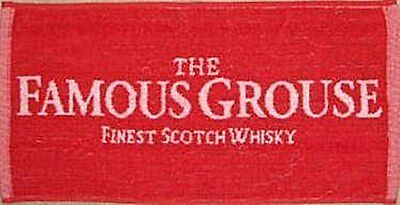 Famous Grouse Whiskey Cotton Bar Towel (pp)