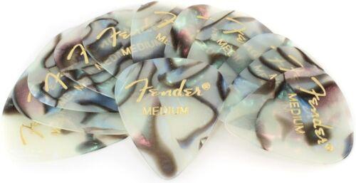 Fender 351 Premium Guitar Picks - Medium Abalone -