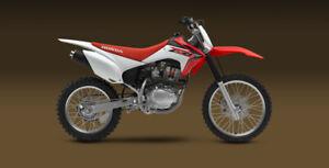Looking for a Honda 150 cc dirt bike